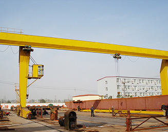 L type Single-girder gantry crane